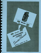 Minolta Autocord, Autocord cds III Camera Service & Repair Manual