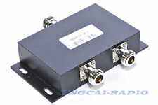 2 way VHF 136-174MHz antenna power splitter two way radio repeater power divider