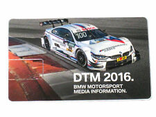 BMW 4er/M4 DTM 2016 digitale Pressemappe/Press Launch Media Info Kit *USB-Stick*