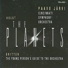 Holst: The Planets; Britten: The Young Person's Guide to the Orchestra (CD,...