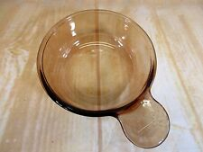 Corning Ware Grab It Bowls V-150-B Visions Glass Amber Dishes Microwave
