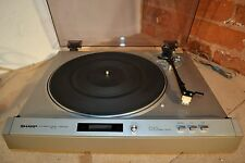 SHARP RP-30H Automatic Stereo TURNTABLE Silver Direct Drive