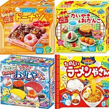 New Kracie Popin Cookin  4Item Sushi Ramen Japanese DIY Candy Kits