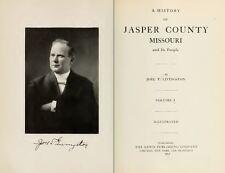 1912 JASPER County Missouri MO, History and Genealogy Ancestry Family DVD B23