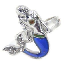 Mermaid Emotion Mood Rings Color Changing Discoloring Fashion Jewelry Wholesale