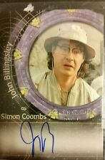 *STARGATE SG-1* Autograph Card A-31 SIMON COOMBS Signed by JOHN BILLINGSLEY