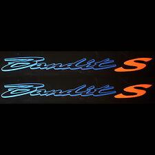 2x Aufkleber Suzuki Bandit S #0307