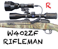 Wicked Lights W402ZF Rifleman Kit for varmint night hunting light Red LED