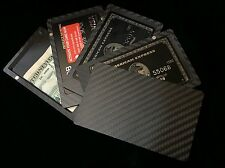 Carbon Fiber Magnetic Cardholder Minimalist Wallet Perfect Christmas Present