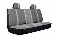 NEW Allison Gray Diamond Back Large Rear Bench Truck Seat Cover Heavy Duty Car