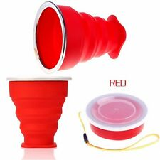 Collapsible Coffee Tea Mug Silicone Outdoor Camping Cup Folding Water Cup
