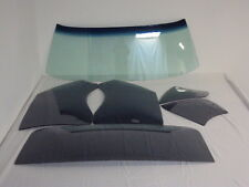 1966 1967 CHEVY II NOVA 2DR HARDTOP WINDSHIELD, SIDES & BACK GLASS SMOKE GREY
