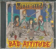 "JEZEBELLE ""Bad Attitude"" CD 1990 Heavy Metal Records  NEU/NEW"