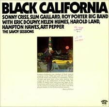 "Black California 1976 jazz bop double LP 12"" 33rpm US rare vinyl record (sealed)"