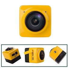 360° Panoramic WiFi Wireless HD1080P Cube Sport Action DV Video Camera Camcorder