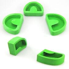 5 Pcs Dental Lab Silicone Rubber Plaster Former Model Base Molds Moulds