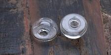 2x Hohlperlen Glas Perlen zum Füllen 25mm lb289