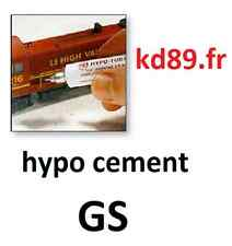 colle GS hypo cement collage tranphile train HO maquette modelisme precision