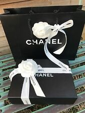 chanel box for purse/mini bag H6.5/L22/W16 cm,carrier bag''gift wrapping''