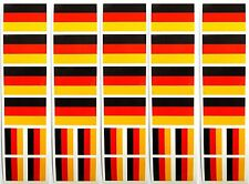 40 Stickers: German Flag, Germany Party Favors, Decals