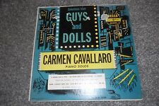 "GUYS AND DOLLS -- Carmen Cavallaro Piano Solos -- 12"" LP-- Decca"