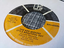 The New Seekers 45 It's a Beautiful Day/Look What They've Done to My #2 VG++