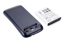 6000mAh Extended Battery & Dark Blue Back Cover Case for Samsung Galaxy S3 I9300