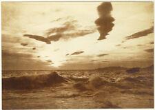PhotoAnonyme Vague Tirage Argentique Vers 1920
