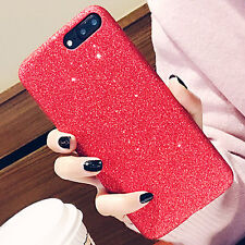 Shining Silicone Rubber Glitter Shockproof Case Phone Cover for iPhone 6s 7 Plus