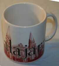 Starbucks Cup Mug Guadalajara Mexico 2006 Icon City 16 oz RARE Large