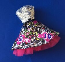 BARBIE TOKIDOKI MODEL MUSE DOLL OUTFIT 10TH ANNIVERSARY SKIRT & SEQUINS TOP FUN!