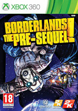 BORDERLANDS THE PRE-SEQUEL XBOX 360 BRAND NEW & FACTORY SEALED! UK RELEASE