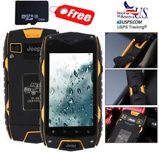 32GB Unlocked Smartphone MTK6572 Quad Core 1.2GHz Rugged Android Phone JEEP Z6