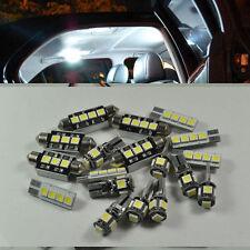 For BMW 3s E90 E91 E92 E93 Error Free White 16 Light SMD LED Interior munber kit
