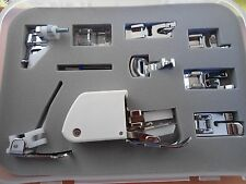 SINGER Accessory Kit 9 Presser Feet, Twin Needle, Case Walking foot Darning