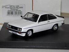 FORD ESCORT RS2000 LHD ROAD CAR DIAMOND WHITE TROFEU 1801W 1/43