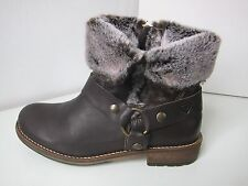 Tamaris Stiefel Stiefelette Fell mocca Gr. 38 leather boots bootee brown braun