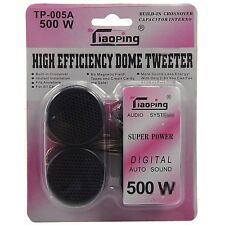 Set 2 Tweeter Speaker Cassa Auto 500w TP-005A Digital Audio Sound hsb
