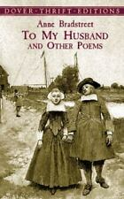 To My Husband and Other Poems Dover Thrift Editions