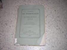 1873.éléments pathologie et thérapeutique / Jousset.médecine.homéopathie