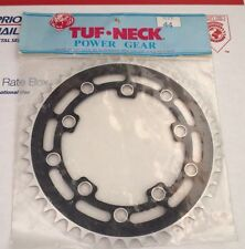 NOS Tuf Neck Chainwheel 44T Black Sprocket Old School BMX Vintage Rare HTF!