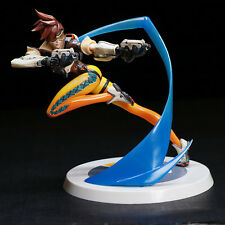 OW Overwatch Action Figure Tracer PVC Statue 28cm high Toy Gift NO  BOX