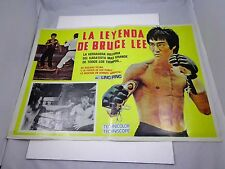 X    MEXICAN BRUCE LEE 'Ling Ping '   poster  22 x 16""
