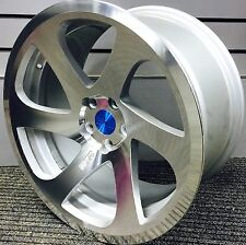 "18"" 3SDM 0.06 MIRROR SILVER ALLOY WHEELS 5X100 FITS VW GOLF BORA AUDI A3 & TT"
