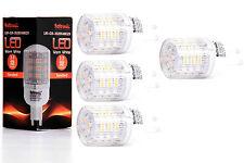 4X G9 LED Lampe von Seitronic mit 3 Watt, 240LM und 48LEDs - Warm weiß 2900K