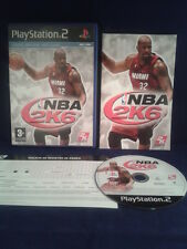 PS2 NBA 2K6 PLAY STATION 2 PAL