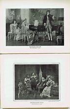 Realm of Melody (Erdmann)-Amateur Playing Cello (Ross)-1925 Music History Prints