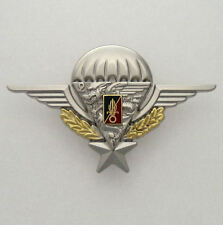 FRENCH FOREIGN LEGION ETRANGERE 2 REP - NUMBERED - BADGE BRILLIANT - PARACHUTE