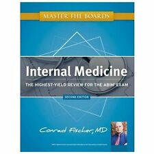 Master The Boards Internal Medicine by Conrad Fischer - Latest Edition,Brand new