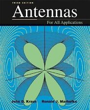 Antennas by Ronald J. Marhefka and John D. Kraus (2001, Hardcover)